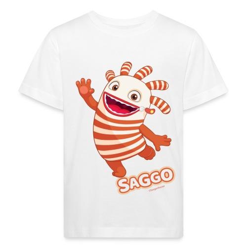 Sorgenfresser Saggo Tanzt Fröhlich - Kinder Bio-T-Shirt