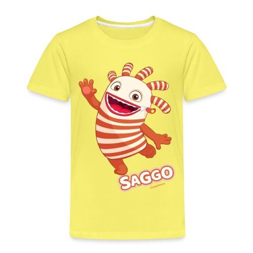 Sorgenfresser Saggo Tanzt Fröhlich - Kinder Premium T-Shirt