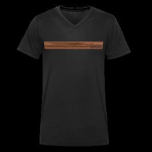wood2600 - Men's Organic V-Neck T-Shirt by Stanley & Stella