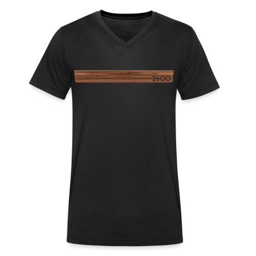 wood2600 - Men's Organic V-Neck T-Shirt by Stanley & Stella