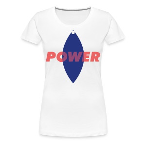 Power - Girl - T-shirt Premium Femme