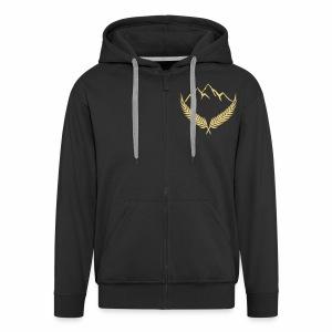 SpringFresh Gold Hoodie - Men's Premium Hooded Jacket