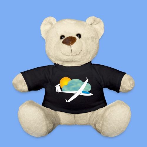 Segelflugzeug mit Sonne und Wolke - Teddy Bear
