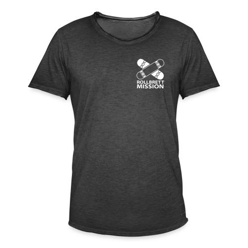 Dezent und klassisch - Männer Vintage T-Shirt