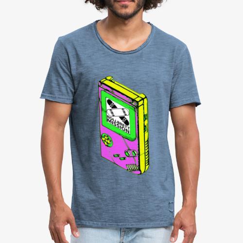 Vintage Spieljunge - Männer Vintage T-Shirt