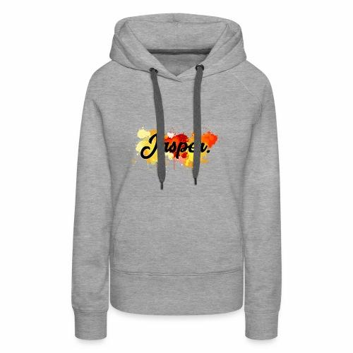 Hoodie Woman   Jasper. - Vrouwen Premium hoodie
