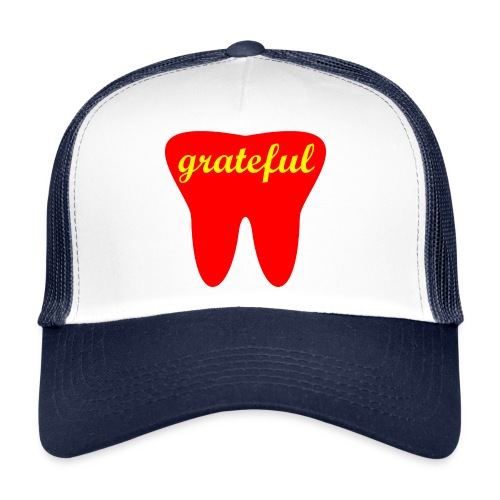 Motivation Cap - grateful - Trucker Cap