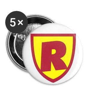 RoJ - Små knappar 25 mm