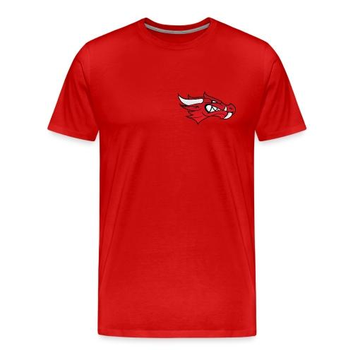 Small Dragon Logo - Men's Premium T-Shirt