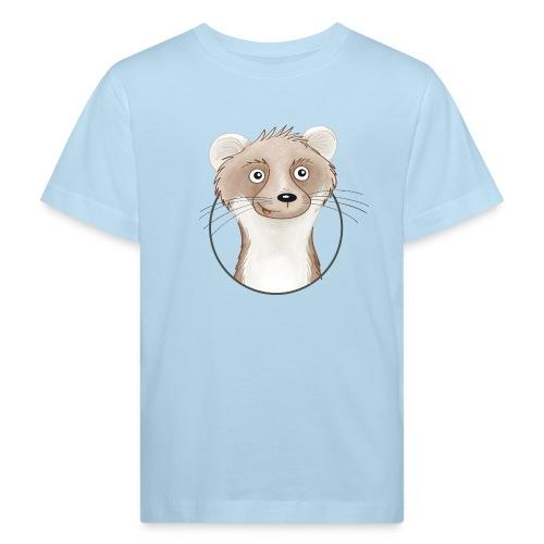 frecher Wiesel - Kinder Bio-T-Shirt - Kinder Bio-T-Shirt