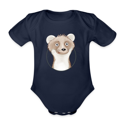 frecher Wiesel - Baby Bio-Kurzarm-Body - Baby Bio-Kurzarm-Body