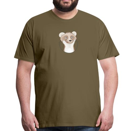 frecher Wiesel - Männer Premium T-Shirt - Männer Premium T-Shirt