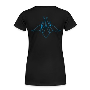 Columbine * Akelei - Frauen Premium T-Shirt