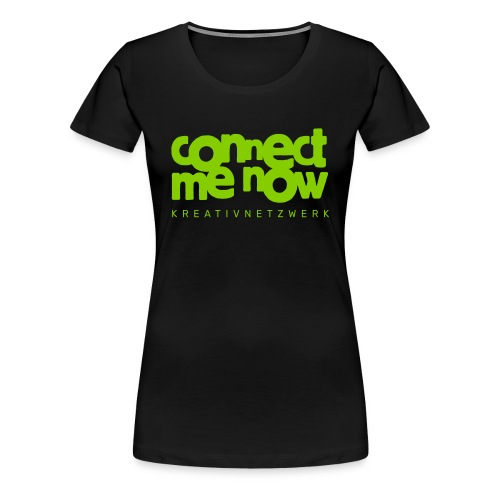 Connect-Me-Now - Frauen Premium T-Shirt