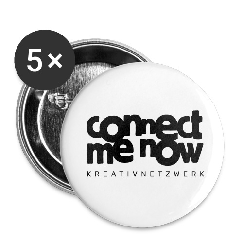 Connect-Me-Now - Buttons groß 56 mm (5er Pack)