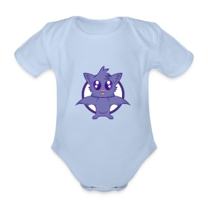 Body Cute chauve-souris - Body bébé bio manches courtes