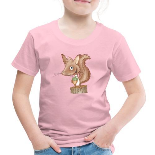 keckes Eichhörnchen - Kinder Premium T-Shirt - Kinder Premium T-Shirt