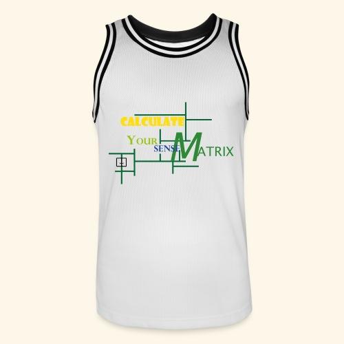 your_sense-MatrixMAIN1 - Männer Basketball-Trikot
