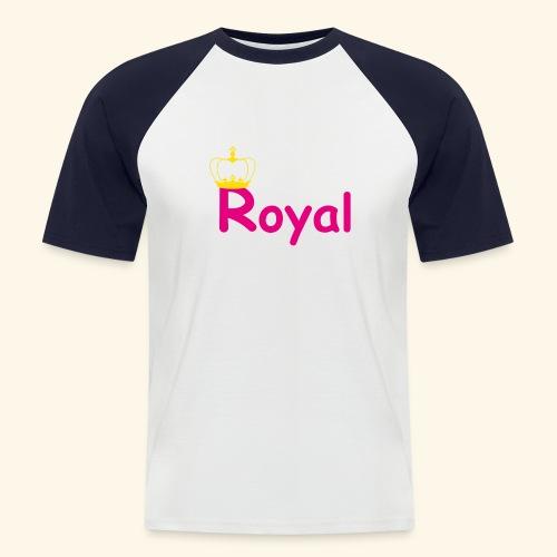 justROYALm2 - Männer Baseball-T-Shirt