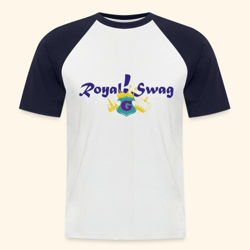 Royal!Swag1 - Männer Baseball-T-Shirt