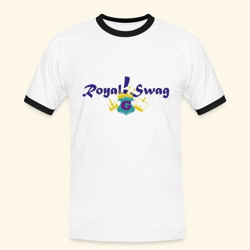 Royal!Swag2 - Männer Kontrast-T-Shirt