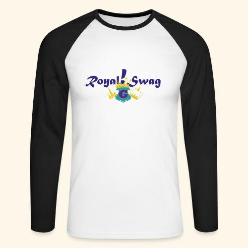 Royal!Swag4 - Männer Baseballshirt langarm