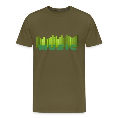 Musically Shirt Men - Männer Premium T-Shirt