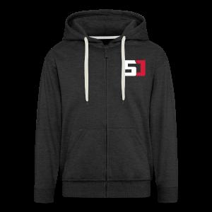SirJambo Zip Hoodie ~ Men's - Men's Premium Hooded Jacket