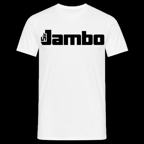 SirJambo (Black) Simple Tee ~ Men's - Men's T-Shirt