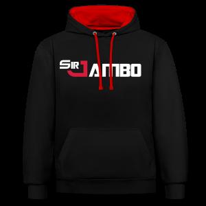 SirJambo Legacy Hoodie ~ Unisex - Contrast Colour Hoodie