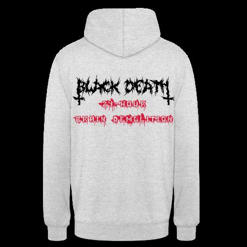 BD Brain D Unisex Sweater Reverse - Unisex Hoodie