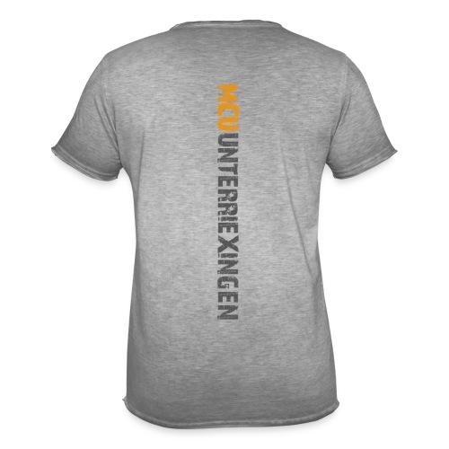 MCU Vintageshirt 2 farbiger Aufdruck, Grau - Männer Vintage T-Shirt