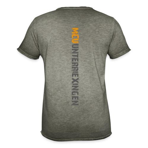 MCU Vintageshirt 2 farbiger Aufdruck, Khaki - Männer Vintage T-Shirt