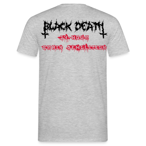 BD Brain D Double Print Man Reverse - Men's T-Shirt