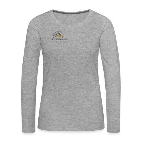 MCU Damen-Langarmshirt 2 farbiger Aufdruck - Frauen Premium Langarmshirt