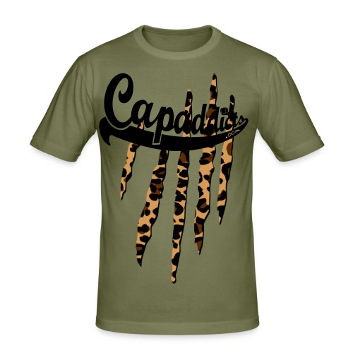 Bodega leo - Männer Slim Fit T-Shirt