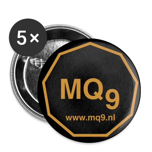www.mq9.nl 32mm - Buttons medium 1.26/32 mm (5-pack)