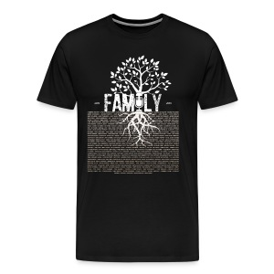 VBFamily MALE /UNISEX (White Print) - Men's Premium T-Shirt