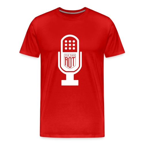 Miasanrot.com Podcast Shirt - Men's Premium T-Shirt