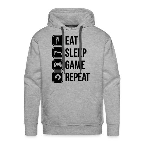 VIE D'UN GEEK - Sweat-shirt à capuche Premium pour hommes