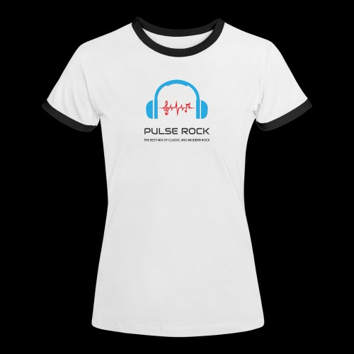Pulse Rock Women's Ringer T-Shirt - Women's Ringer T-Shirt