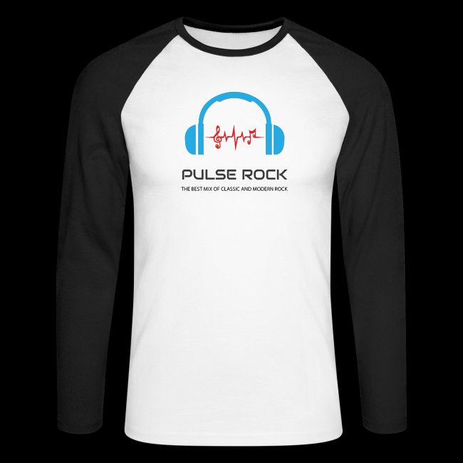 Pulse Rock Men's Long Sleeve Baseball T-Shirt
