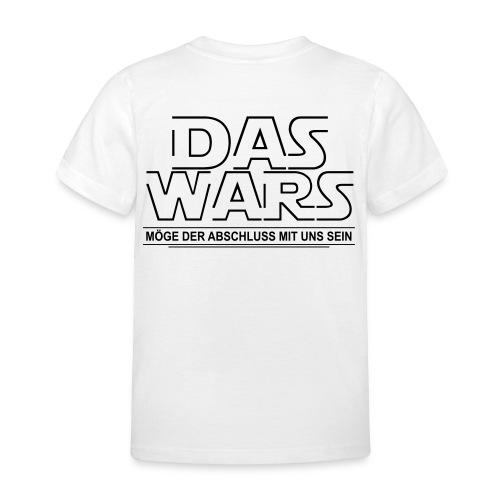 DAS WARS - Kinder T-Shirt