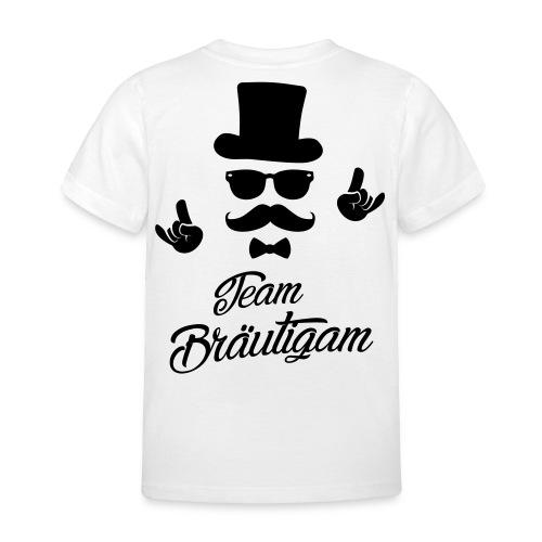 Team Bräutigam - Kinder T-Shirt