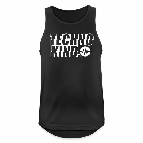 Technokind V2 - Tanktop - Männer Tank Top atmungsaktiv