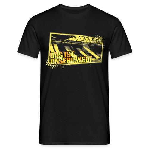 UNSER WELT SHIRT - Männer T-Shirt