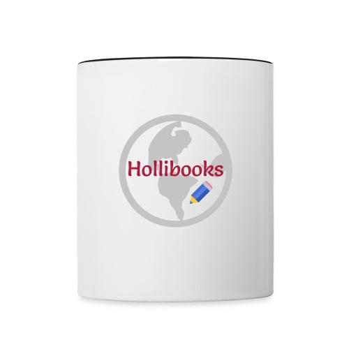 Tasse Hollibooks - Tasse zweifarbig