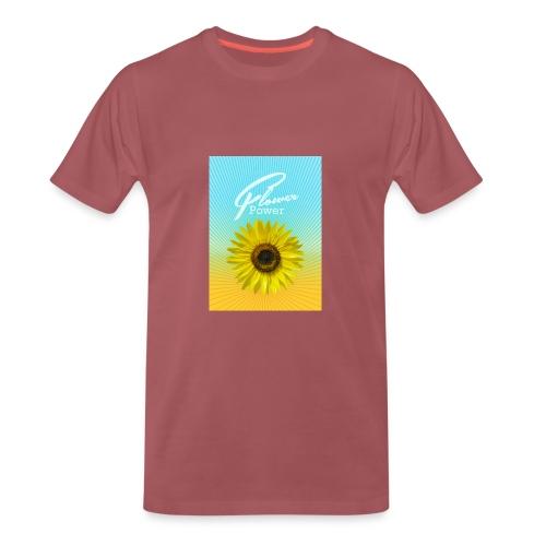 sunflower Flower Power Sonnenblume Sommer - Männer Premium T-Shirt