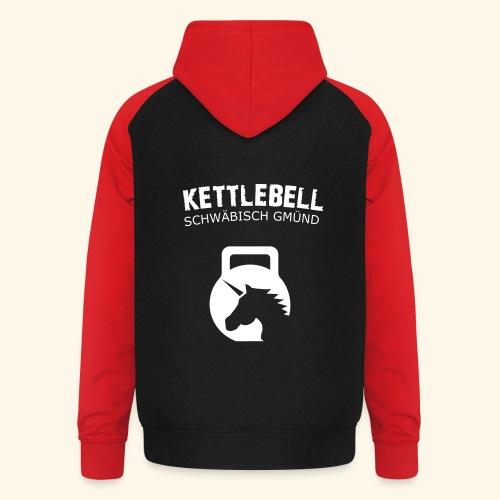 Ketllebell GD Einhorn Hoodie  - Unisex Baseball Hoodie