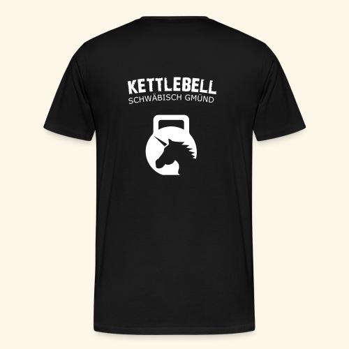 T-Shirt mit Wappen  - Männer Premium T-Shirt